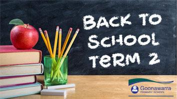 Back to School - Term 2
