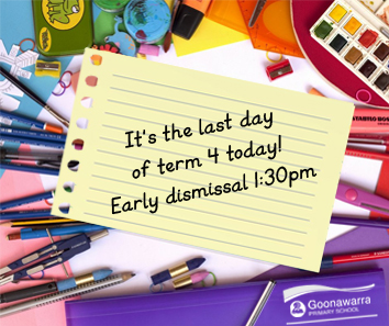 Term 4 Early Dismissal